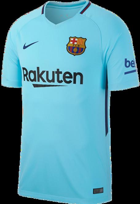 2c9f036d1 NIKE BARCELONA 2018 AWAY JERSEY polarized blue - Soccer Plus