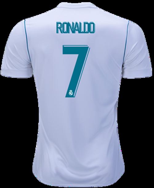 b05c5198e ADIDAS REAL MADRID 2018 RONALDO HOME JERSEY - Soccer Plus