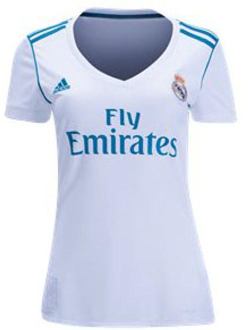 adidas 2017 2018 Real Madrid Training Tee Women's T Shirt In