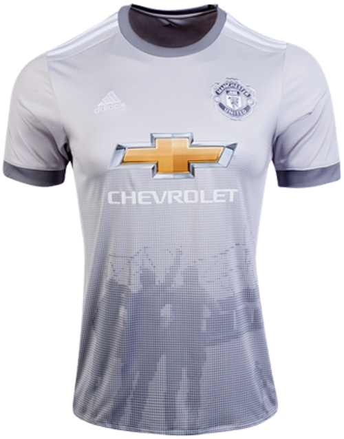 the latest 56d07 08616 ADIDAS MANCHESTER UNITED 2018 3RD GREY JERSEY