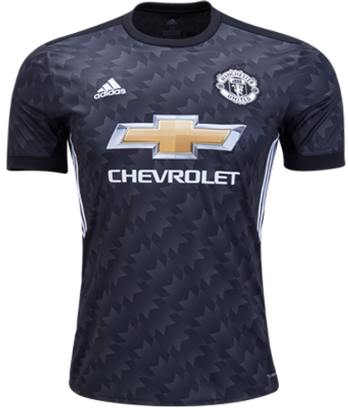 ADIDAS MANCHESTER UNITED 2018 BOYS AWAY BLACK JERSEY - Soccer Plus 6fb69ca79