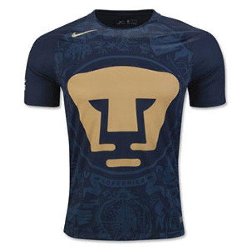 7ab6d6f6688 NIKE PUMAS UNAM 2017 HOME JERSEY NAVY - Soccer Plus