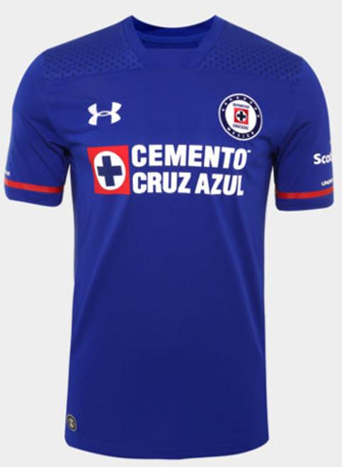 50dfc188b83 UNDER ARMOUR CRUZ AZUL 2017 AWAY BLUE JERSEY - Soccer Plus
