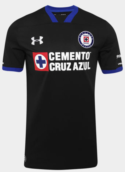 c699c0513 UNDER ARMOUR CRUZ AZUL Third Jersey 2018 black - Soccer Plus