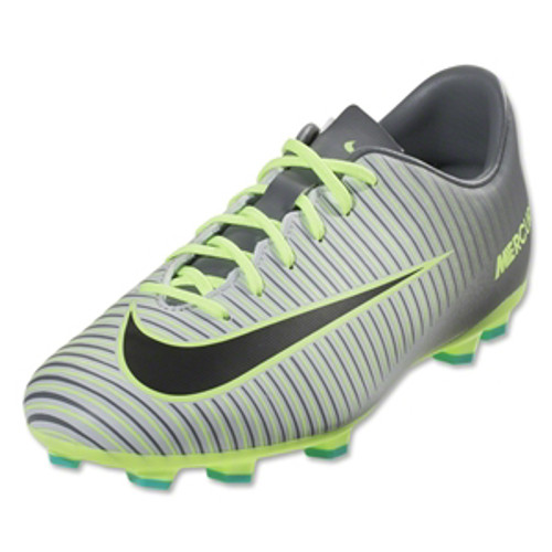 412822e64 NIKE JR MERCURIAL VAPOR FG pure platinum ghost green - Soccer Plus