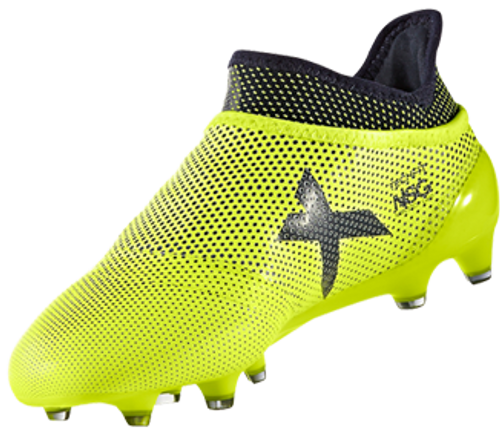 ADUDAS X 17+ Purespeed Junior Firm Ground Cleats solar yellow ... fba61961aab8