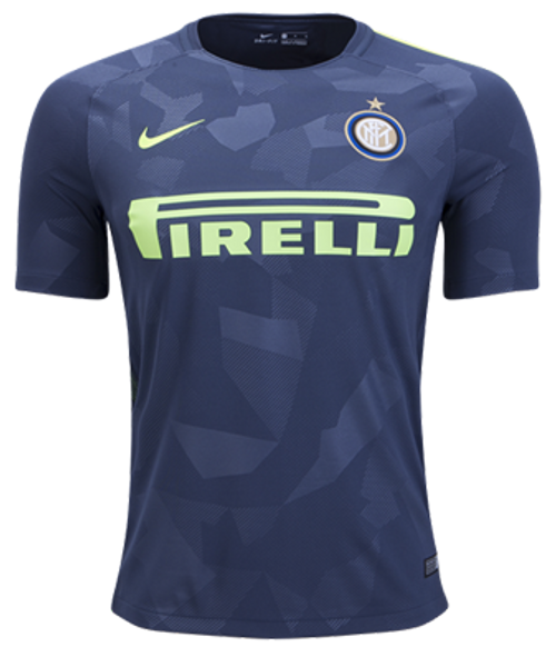 official photos 6c55f aea0e NIKE INTER MILAN 2018 Third Jersey grey
