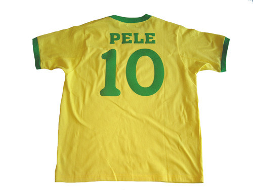 BRAZIL 1970 RETRO `PELE` JERSEY - Soccer Plus f70ea5d2b