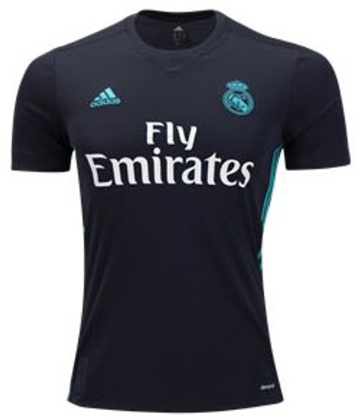 584b97d46 ADIDAS REAL MADRID 2018 AWAY ASENSIO BLACK JERSEY - Soccer Plus