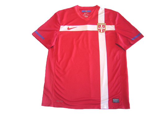 86c6ca3d6 NIKE SERBIA 2010 AWAY RED JERSEY - Soccer Plus