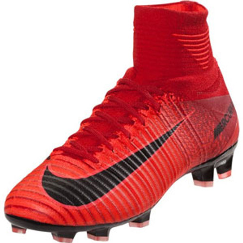 6dc6cab94d2e NIKE MERCURIAL SUPERFLY V DF FG university red - Soccer Plus