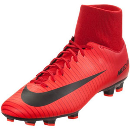 NIKE MERCURIAL VICTORY VI DF FG university red - Soccer Plus 7cb570ee47