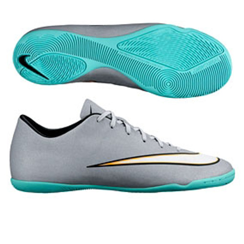 f1a10f0433c NIKE MERCURIAL VICTORY V CR IC indoor soccer shoes grey - Soccer Plus