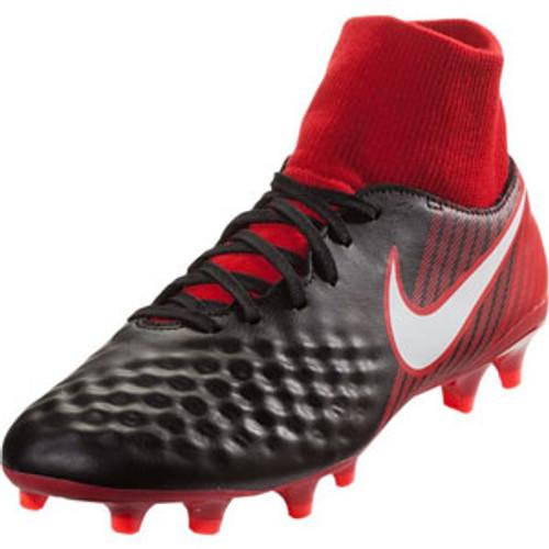 5e4cc5f04397 NIKE MAGISTA ONDA II DF FG black university red - Soccer Plus