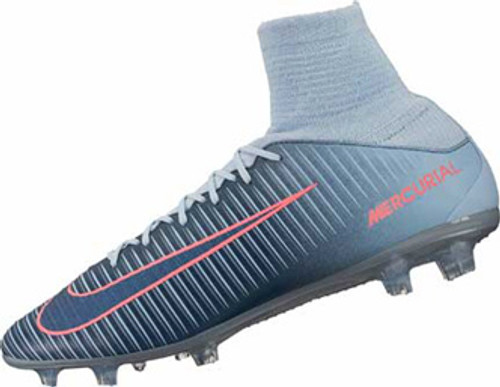 bb0489a3a85 NIKE MERCURIAL VELOCE III DF FG Light Armory Blue - Soccer Plus