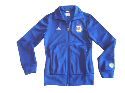 6947abe007b ADIDAS ARGENTINA 2010 WOMEN S TRACK TOP BLUE - Soccer Plus