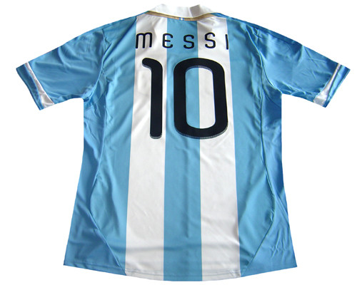 6ce406687 ADIDAS ARGENTINA 2011 HOME `MESSI` JERSEY - Soccer Plus