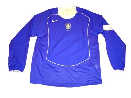 4fb897068e8 NIKE BRAZIL 2004 AWAY L S JERSEY - Soccer Plus