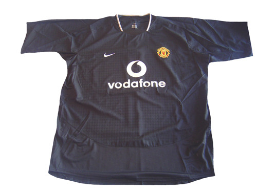 release date: b7843 cac38 NIKE MANCHESTER UNITED 2005 AWAY JERSEY BLACK
