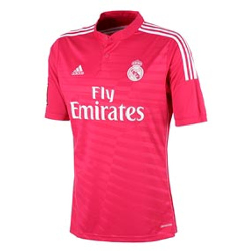 b39e0fe87 Pink Real Madrid away Jersey 20142015 t