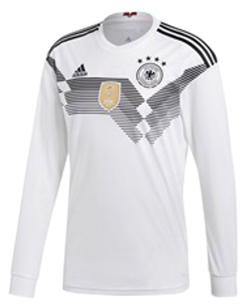 06831b906cd ADIDAS GERMANY WORLD CUP 2018 HOME L S JERSEY - Soccer Plus