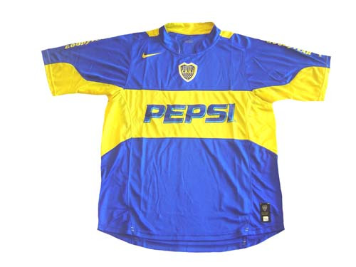 buy popular 00897 46b58 NIKE BOCA JUNIORS 2004 HOME `SPHERE DRY` JERSEY