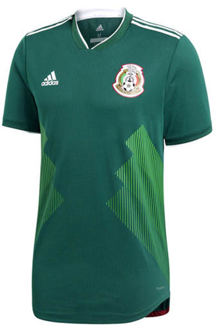ae45c5e6daf ADIDAS MEXICO 2018 WORLD CUP AUTHENTIC HOME JERSEY - Soccer Plus