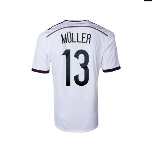 brand new 6b506 17ae9 ADIDAS GERD MULLER GERMANY RETRO TEE - Soccer Plus