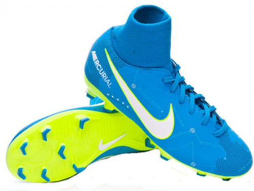 8c3721ca0 NIKE JR MERCURIAL VICTORY 6 FG Neymar blue orbit - Soccer Plus