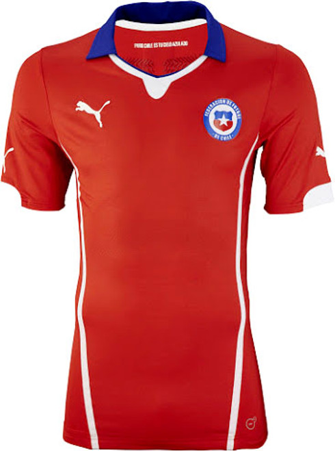 fe04b8f97 PUMA CHILE 2015 HOME JERSEY - Soccer Plus