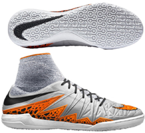 info for 038b6 510de NIKE HYPERVENOMX Proximo IC Wolf GreyTotal Orange
