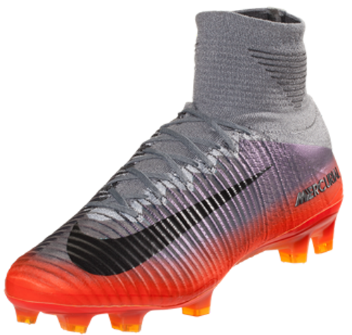 d1c01d39473 NIKE MERCURIAL SUPERFLY V CR7 FG Cool Grey Total Crimson Tart ...