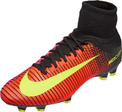 watch 9f5e4 1cddf NIKE MERCURIAL SUPERFLY V FG total crimson  volt - Soccer Plus