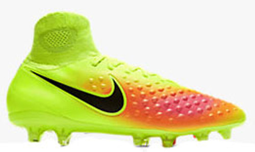 quality design 81deb 3878f Nike Magista Orden II FG Volt Black Total Orange Pink Blast