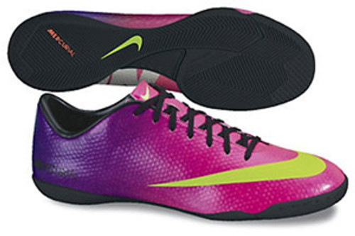online store 16abd e60eb Nike Mercurial Victory IV IC Fireberry Red Plum Black Electric Green