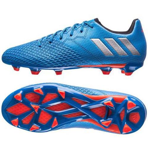 ad78311d4 ADIDAS MESSI 16.3 JR FG AG Shock Blue silver - Soccer Plus