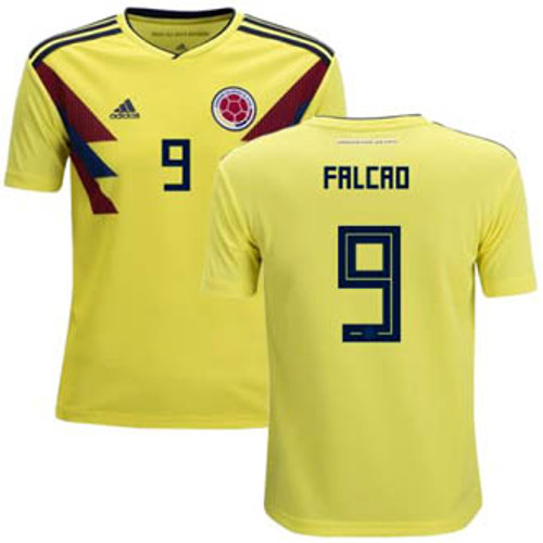 47a3843e235 ADIDAS COLOMBIA WORLD CUP 2018 `FALCAO`HOME JERSEY - Soccer Plus