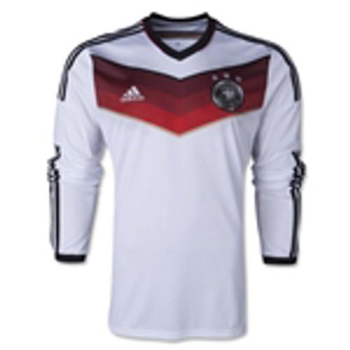0f9cfa4282c ADIDAS GERMANY 2014 HOME L S JERSEY - Soccer Plus