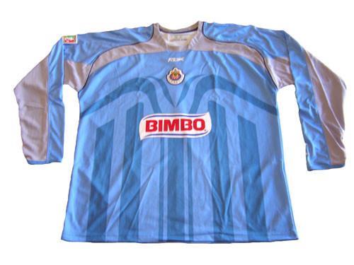 the best attitude f4e67 1cbd8 REEBOK CHIVAS de GUADALAJARA 2007 G/K JERSEY BLUE