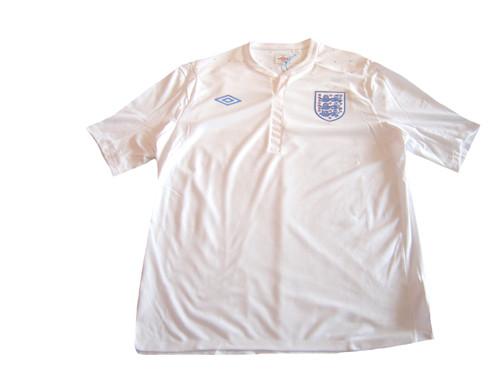 UMBRO ENGLAND 2011 HOME JERSEY WHITE - Soccer Plus f535e411d