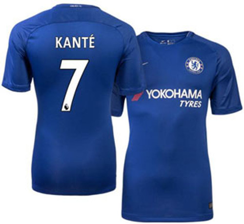 buy online 9db3c fdc98 NIKE CHELSEA 2018 HOME `KANTE` JERSEY