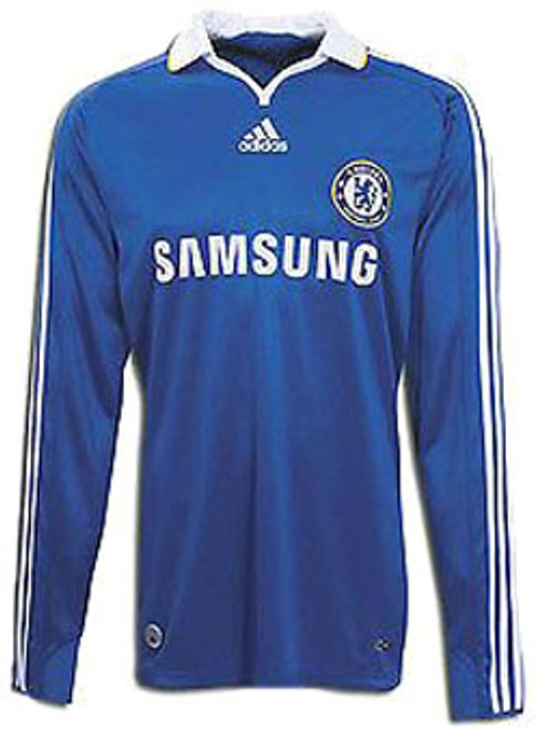purchase cheap f5b90 31acf ADIDAS CHELSEA 2009 HOME L/S JERSEY