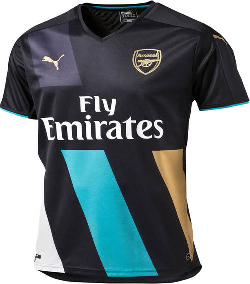 Puma Arsenal 2015 Home Authentic Jersey Soccer Plus