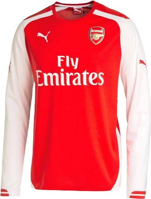 Puma Arsenal 2015 Home Ls Jersey Soccer Plus