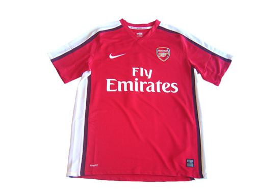 08e21f845 NIKE ARSENAL 2009 HOME JERSEY - Soccer Plus