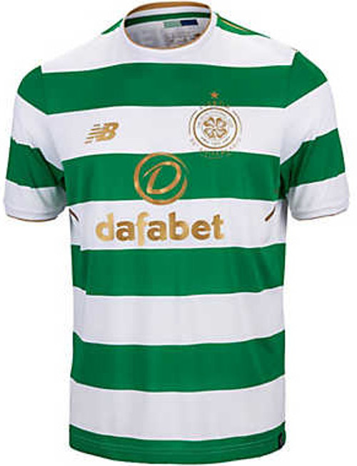 775cc2ee5 NEW BALANCE CELTIC 2018 HOME JERSEY - Soccer Plus