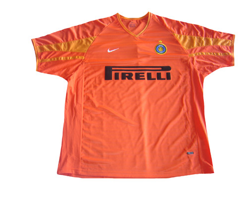 timeless design 24e21 e1334 NIKE INTER MILAN 2003 AWAY 3RD JERSEY orange