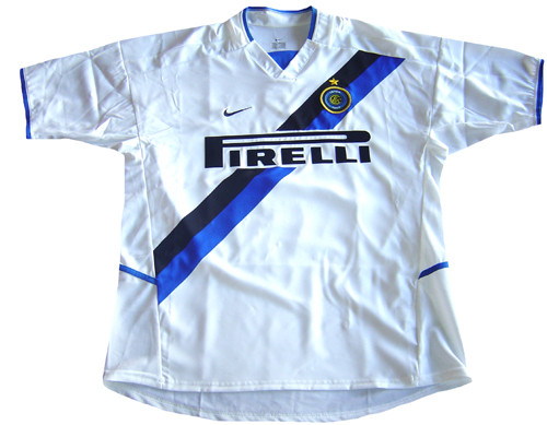 NIKE INTER MILAN 2004 AWAY JERSEY - Soccer Plus 93ce82ee1