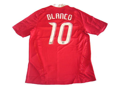 newest collection 81986 7bef1 ADIDAS CHICAGO FIRE 2009 `BLANCO` HOME JERSEY RED