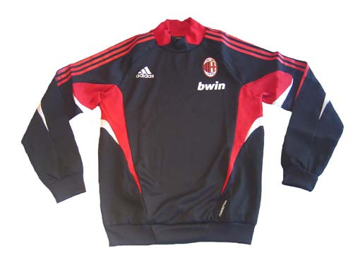 ADIDAS AC MILAN 2009 TRAINING TOP BLACK